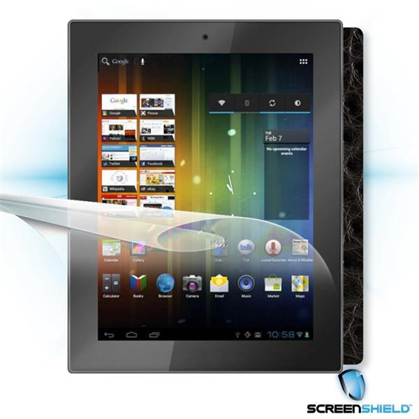 ScreenShield Prestigio MultiPad PMP 5097 - Films on display and carbon skin (leather)