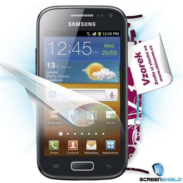 ScreenShield Samsung Galaxy ACE 2 i8160 - Film for display protection and voucher for decorative skin (including shippin