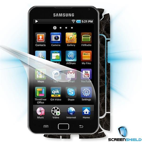 ScreenShield Samsung Galaxy S wifi 5.0 YPG70 - Films on display and carbon skin (leather)