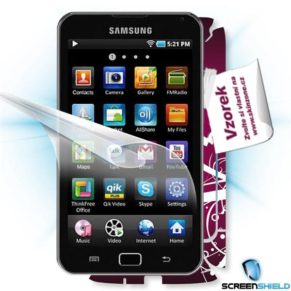 ScreenShield Samsung Galaxy S wifi 5.0 YPG70 - Film for display protection and voucher for decorative skin (including sh