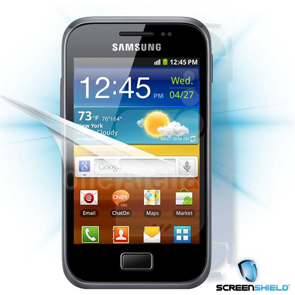 ScreenShield Samsung Galaxy Ace Plus S7500 - Film for display + body protection