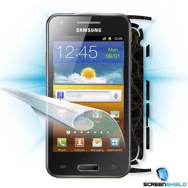 ScreenShield Samsung Galaxy Beam i8530 - Films on display and carbon skin (leather)