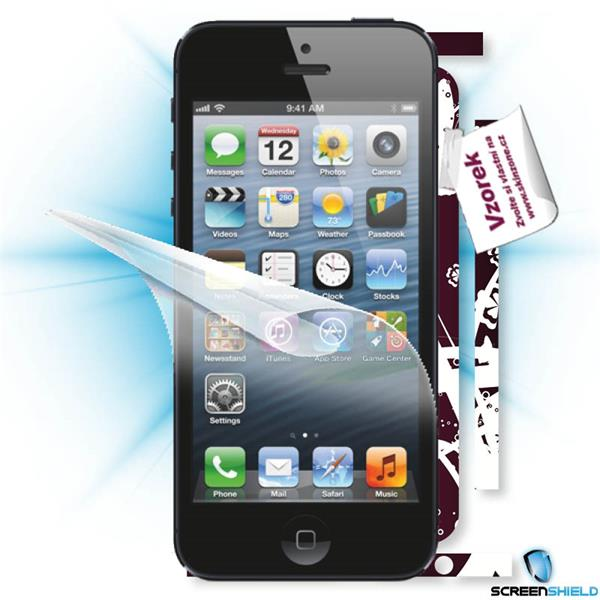 ScreenShield iPhone 5 - Film for display protection and voucher for decorative skin (including shipping fee to end custo