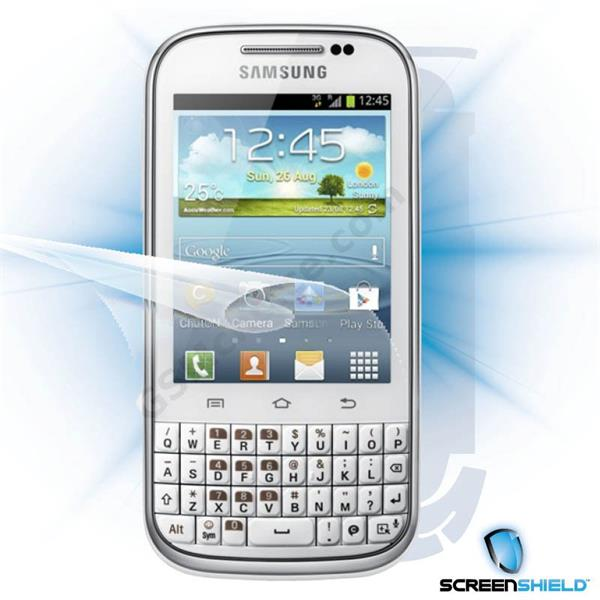 ScreenShield Samsung Galaxy Ch@t B5330 - Film for display + body protection
