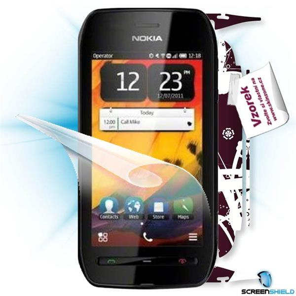 ScreenShield Nokia 603 - Film for display protection and voucher for decorative skin (including shipping fee to end cus