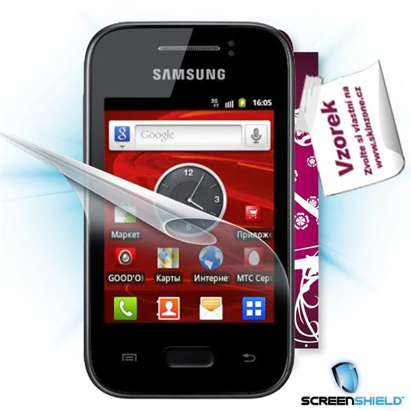 ScreenShield Galaxy Y S5363 - Film for display protection and voucher for decorative skin (including shipping fee to end