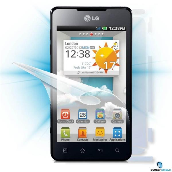 ScreenShield LG Optimus 3D MAX P720 - Film for display + body protection