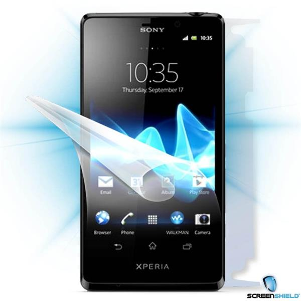 ScreenShield Sony Xperia T - Film for display + body protection