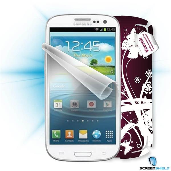 ScreenShield Samsung Galaxy S3 mini i8190 - Film for display protection and voucher for decorative skin (including shipp
