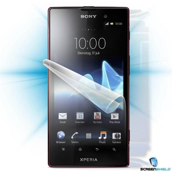ScreenShield Sony Xperia ION LT28h - Film for display + body protection