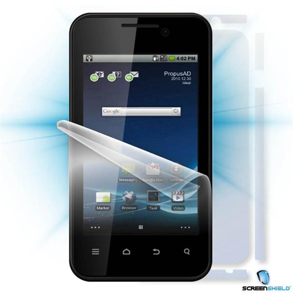 ScreenShield ZTE Atlas W - Film for display + body protection