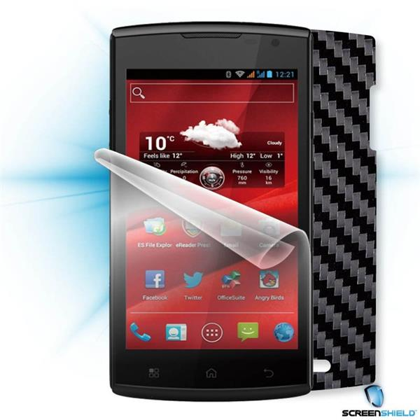 ScreenShield Prestigio PAP 4500 DUO - Films on display and carbon skin (black)
