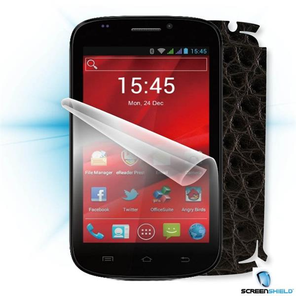 ScreenShield Prestigio PAP 5000 DUO - Films on display and carbon skin (leather)