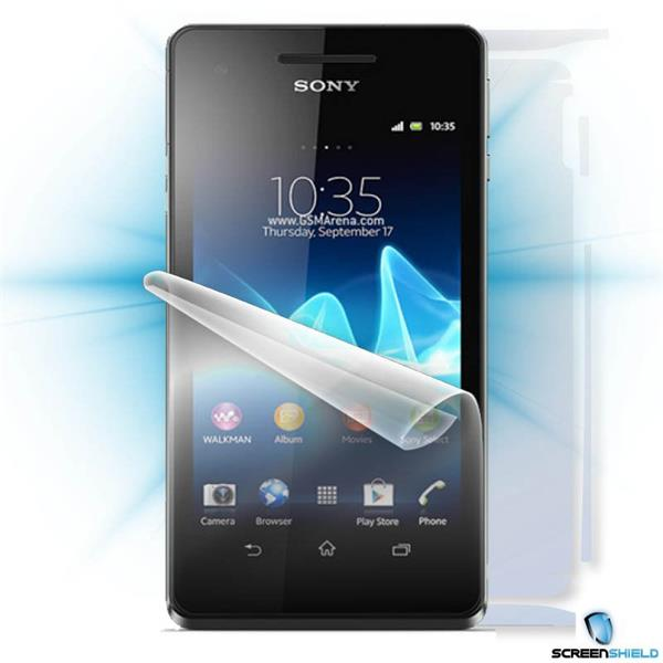 ScreenShield Sony Xperia V - Film for display + body protection