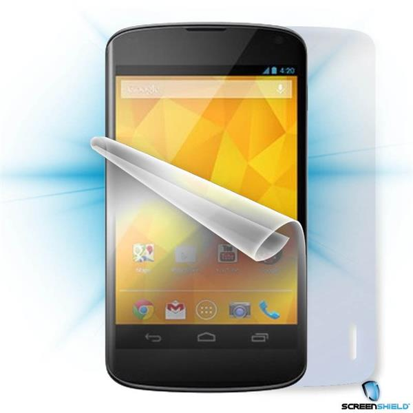 ScreenShield LG Nexus 4 - Film for display + body protection