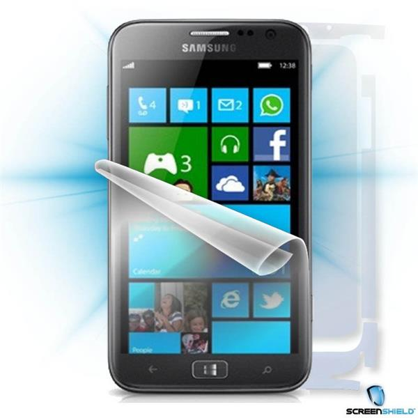 ScreenShield Samsung ATIV S i8750 - Film for display + body protection