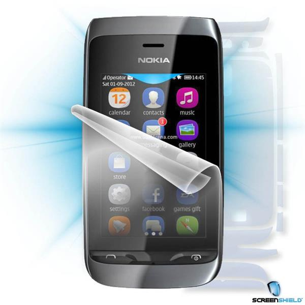 ScreenShield Nokia Asha 309 - Film for display + body protection