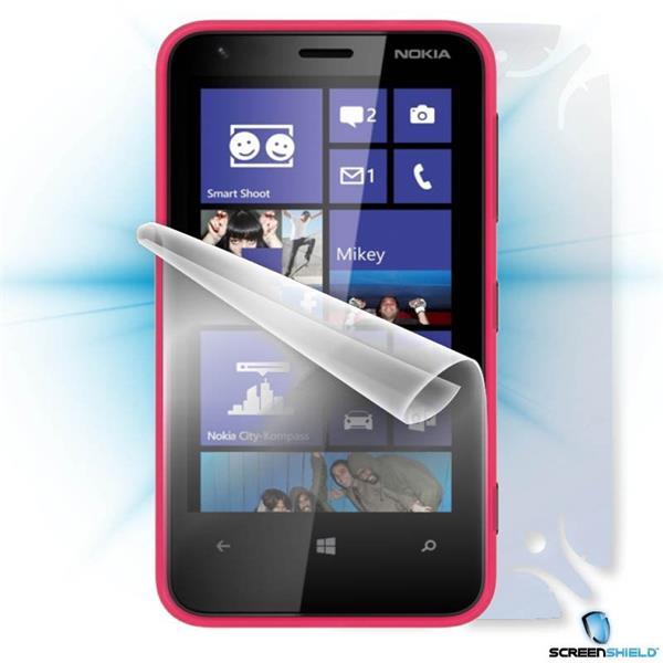 ScreenShield Nokia Lumia 620 - Film for display + body protection