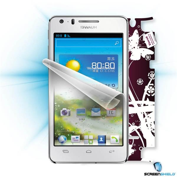 ScreenShield Huawei Ascend G600 - Film for display protection and voucher for decorative skin (including shipping fee to