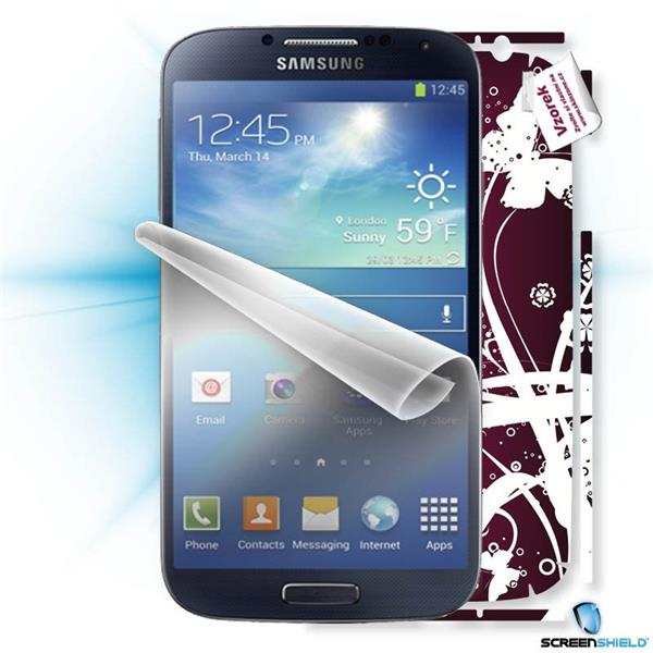 ScreenShield Samsung Galaxy S4 i9505 - Film for display protection and voucher for decorative skin (including shipping