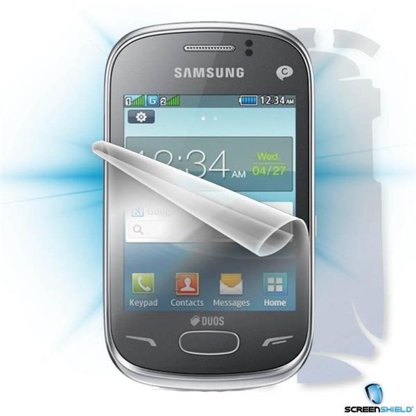 ScreenShield Samsung Rex 70 S3802 - Film for display + body protection