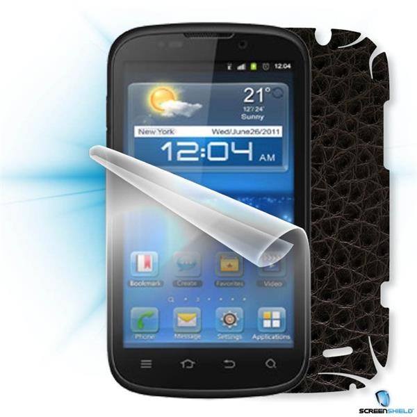 ScreenShield ZTE Grand X IN - Films on display and carbon skin (leather)