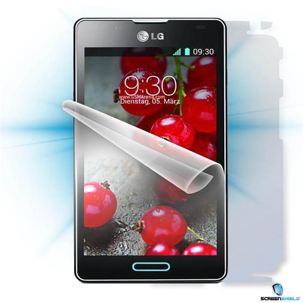 ScreenShield LG P710 Optimus L7 II - Film for display + body protection