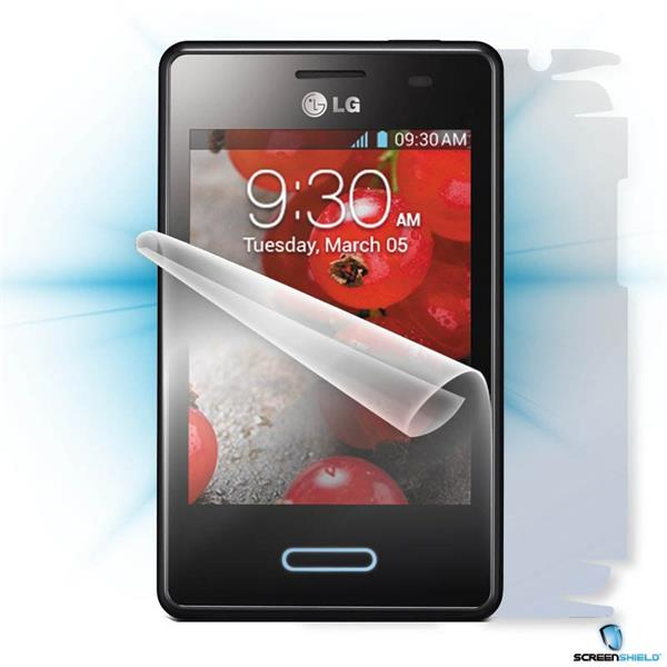 ScreenShield LG E430 Optimus L3 II - Film for display + body protection