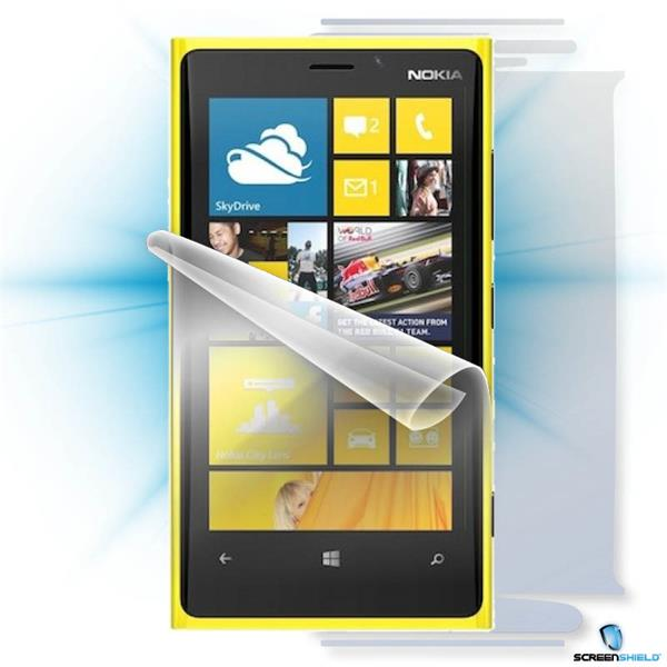 ScreenShield Nokia Lumia 920 - Film for display + body protection
