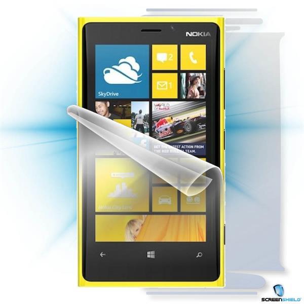 ScreenShield Nokia Lumia 920 - Film for display + body protection