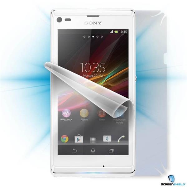 ScreenShield Sony Xperia L - Film for display + body protection