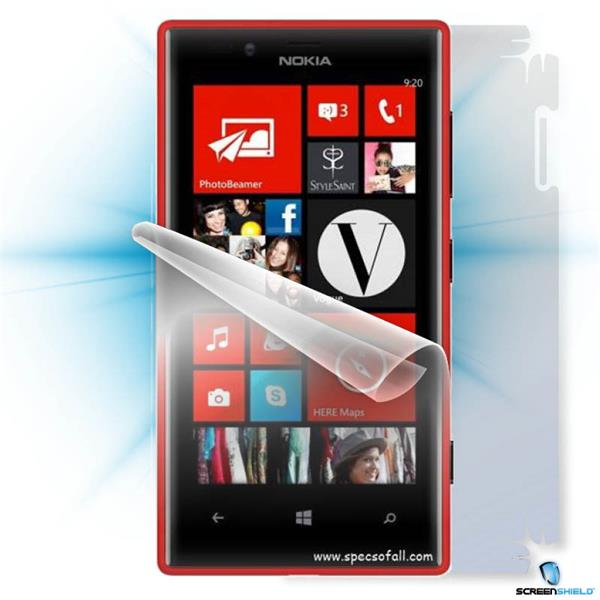ScreenShield Nokia Lumia 720 - Film for display + body protection