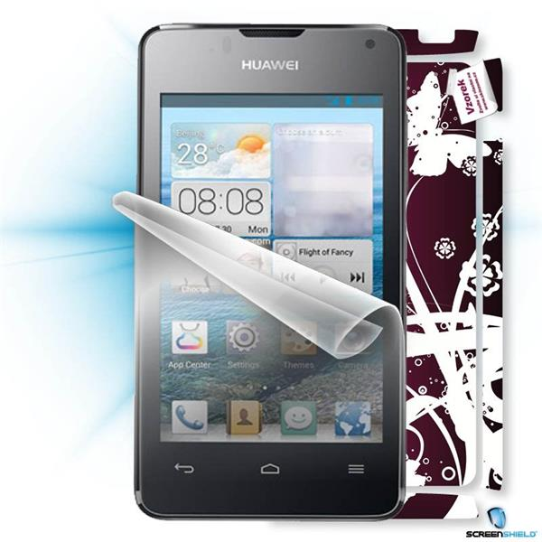 ScreenShield Huawei Ascend Y300 - Film for display protection and voucher for decorative skin (including shipping fee to