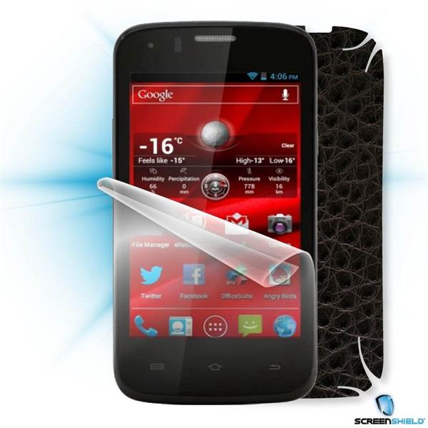 ScreenShield Prestigio PAP 4055 DUO - Films on display and carbon skin (leather)
