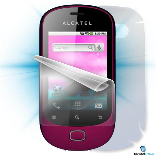 ScreenShield Alcatel One Touch 908 - Film for display + body protection