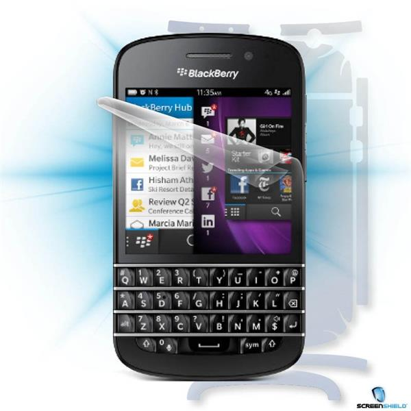 ScreenShield Blackberry Q10 - Film for display + body protection