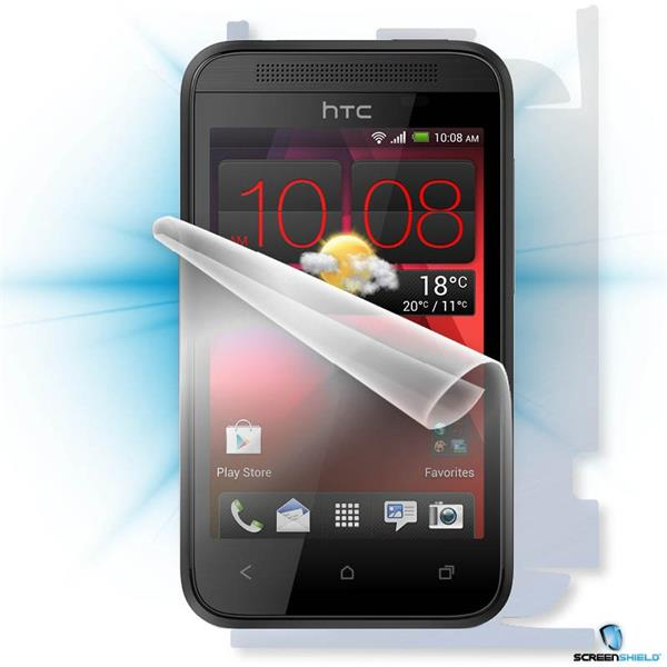 ScreenShield HTC Desire 200 - Film for display + body protection