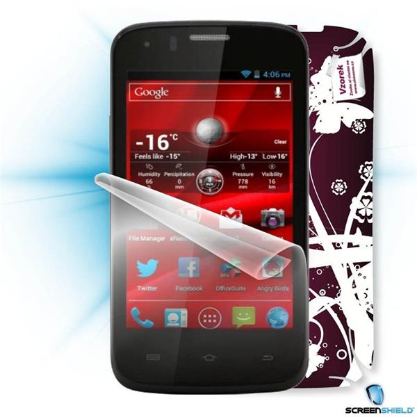 ScreenShield Prestigio PAP 4055 DUO - Film for display protection and voucher for decorative skin (including shipping fe