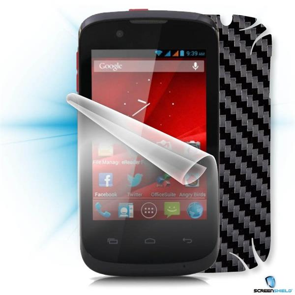 ScreenShield Prestigio PAP 3540 DUO - Films on display and carbon skin (black)