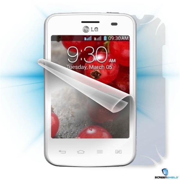 ScreenShield LG Optimus L3 II Dual E435 - Film for display + body protection