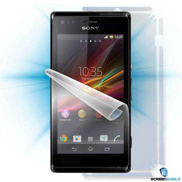 ScreenShield Sony Xperia M - Film for display + body protection