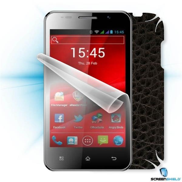 ScreenShield Prestigio PAP 4322 DUO - Films on display and carbon skin (leather)