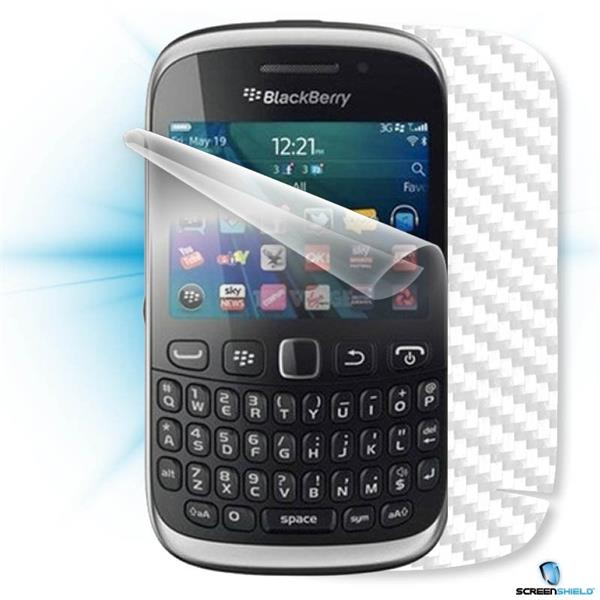 ScreenShield Blackberry Curve 9320 148 - Films on display and carbon skin (white)
