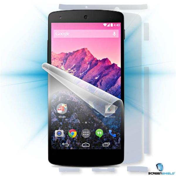 ScreenShield LG Nexus 5 D821 - Film for display + body protection