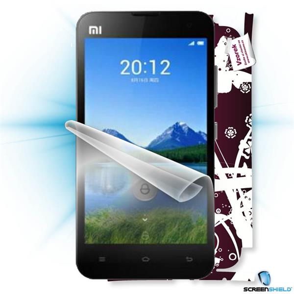 ScreenShield Xiaomi MI2 - Film for display protection and voucher for decorative skin (including shipping fee to end cus