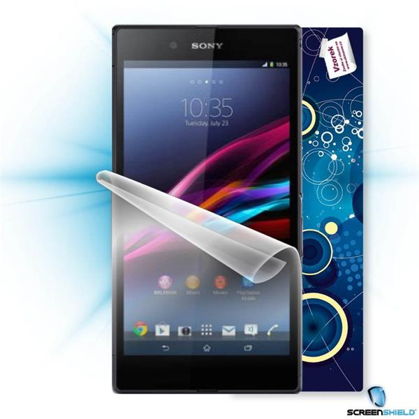 ScreenShield Sony Xperia Z Ultra - Film for display protection and voucher for decorative skin (including shipping fee t