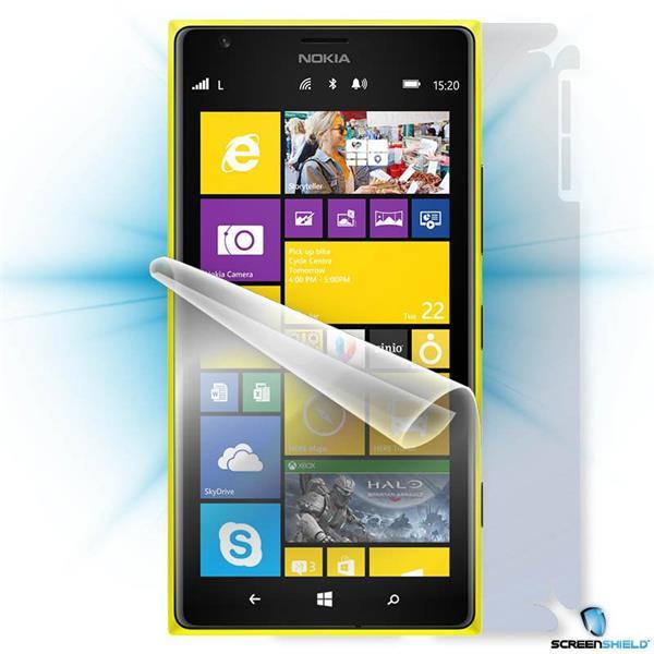 ScreenShield Nokia Lumia 1520 - Film for display + body protection