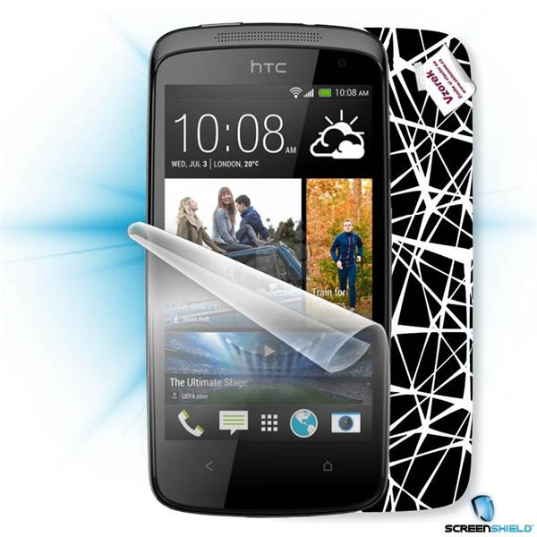 ScreenShield HTC Desire 500 - Film for display protection and voucher for decorative skin (including shipping fee to end
