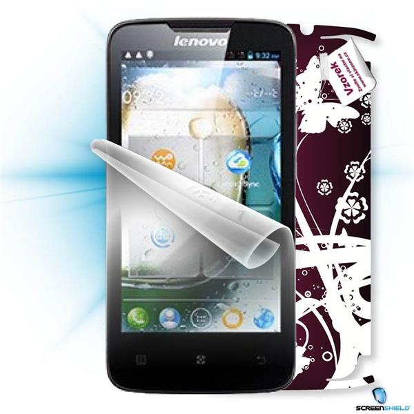 ScreenShield Lenovo A820 - Film for display protection and voucher for decorative skin (including shipping fee to end cu