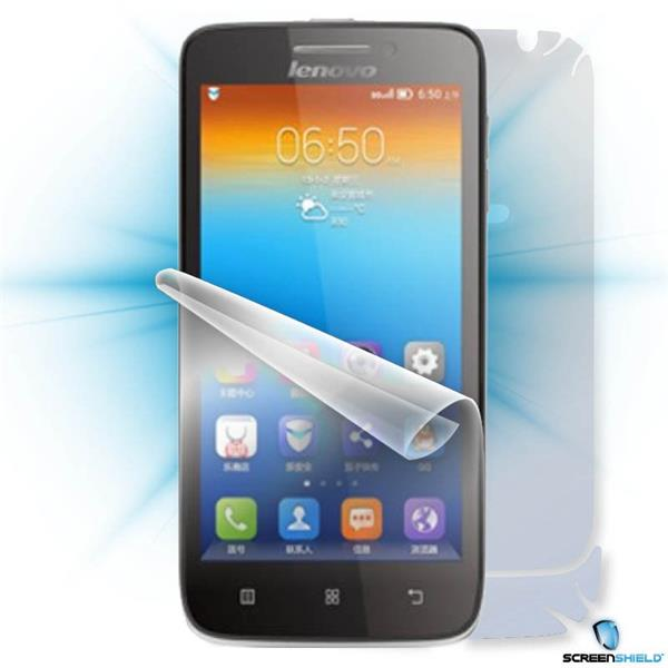ScreenShield Lenovo S650 - Film for display + body protection